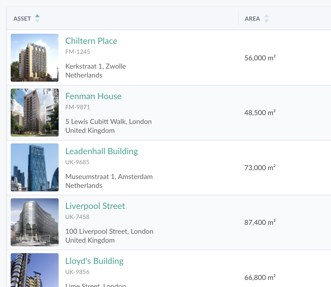 All your building data in one centralized platform.